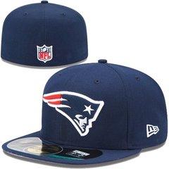 New England Patriots New Era Navy Blue On-Field 59FIFTY