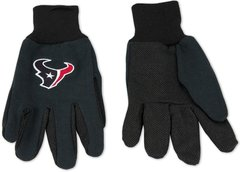 Houston Texans Gloves Navy Blue / Black