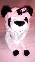 Winter Plush Animal Panda Bear Hat With Lights & Animal Sounds
