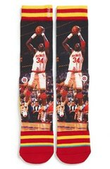 Houston Rockets Hakeem Olajuwon Stance NBA Legends Socks L/XL