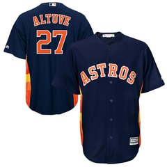 Houston Astros Jose Altuve Majestic Cool Base Player Jersey - Blue