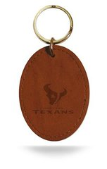 Houston Texans Rico Leather Keychain