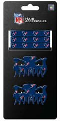 Houston Texans 5PC Pony/Hair Clip Set