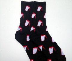 UCOG Streetwear Socks Cup Black / Red