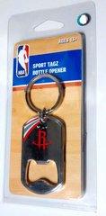 Houston Rockets NBA Sport Tagz Bottle Opener Keychain