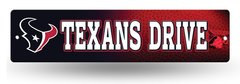 Houston Texans Rico Plastic Street Sign