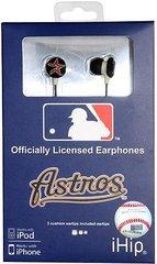 Houston Astros iHip EarBuds Headphones