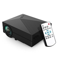 GM-60 1000 Lumens LED Projector for Home Theater HDMI/VGA/AV/SD/USB