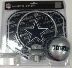 Dallas Cowboys Mini Softee Hoop Set