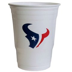 Houston Texans Siskiyou Plastic Game Day Cups - 18 Count