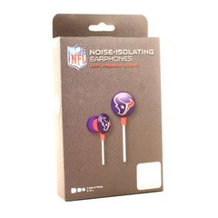 Houston Texans iHip Earbuds Black Box