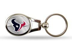 Houston Texans Rico Silver Oval Keychain