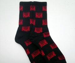 UCOG Streetwear Socks Tape Black / Red