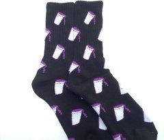 UCOG Streetwear Socks Cup Black / Purple