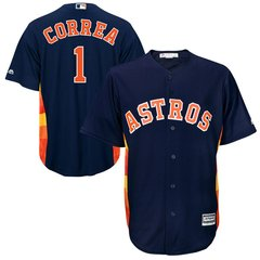 Houston Astros Carlos Correa Majestic Cool Base Player Jersey - Blue