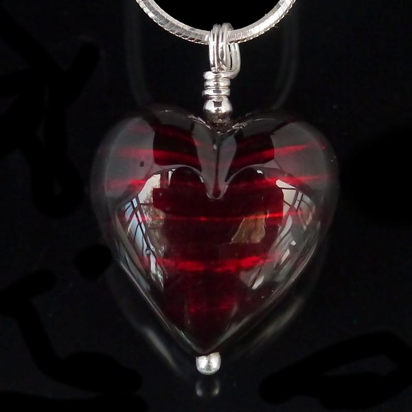 Red heart heart necklace murano glass heart necklace necklace venetian murano glass darkest ruby red sterling silver heart pendant rhiannon mozeypictures Image collections