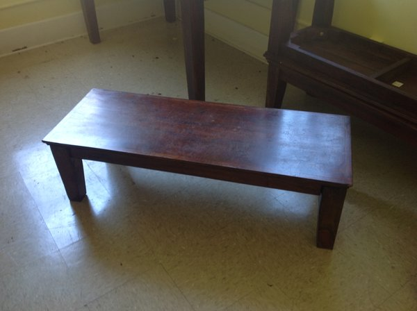 """Solid Wood Bench 14"""" High"""