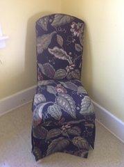 Parsons Flower Print Chair