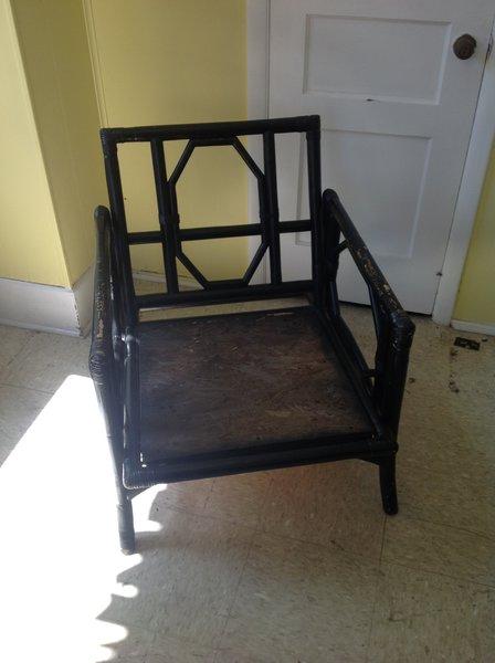 Black Wood Chair