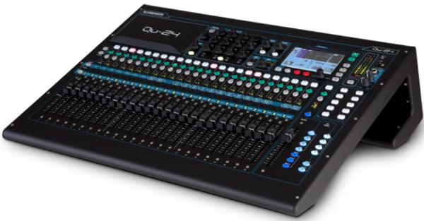 Allen Heath Qu 24 30 Input 24 Output Digital Mixer