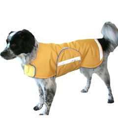 Winter Dog Coat with Reflective Strips
