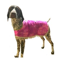 Fashion Dog Cool Coat with Beads