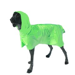 Dog Raincoat with Hood, Unlined