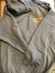 Nobody Cares / Holderdown Hoodie