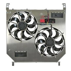 Flex-a-lite Direct-Fit Dual Electric Fans w/ Variable Controller