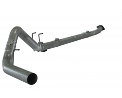 "Flo~Pro 4"" Downpipe Back Exhaust No Muffler - 11-17 Power Stroke"