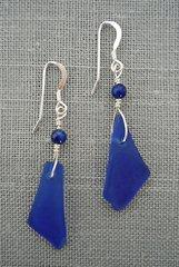 Beach Glass Earrings - Medium