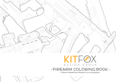The Firearm Coloring Book by Kitfox Design Group
