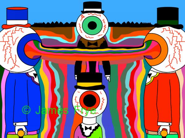"""""""Eyeball People 1"""""""