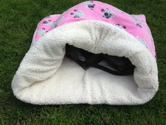 Sherpa Lined Cuddle Fleece Wrap Beds