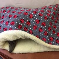 Sherpa Lined Super Soft Cuddle Fleece Wrap Beds