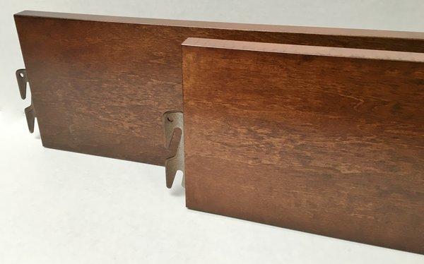 Walnut King Size Bed With Drawers