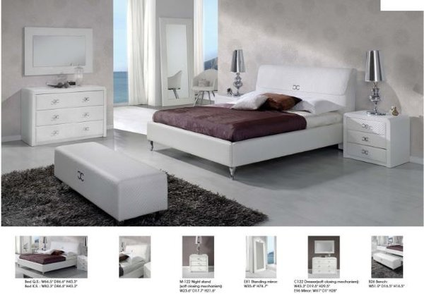 Nora Modern Bedroom Set Spain Modern Bedroom Furniture