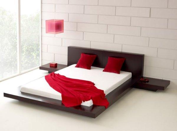 Fujian Modern Platform Bed Espresso Modern Furniture By Matisse