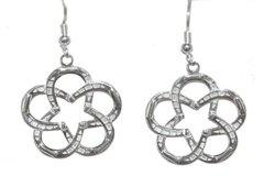 #1 Lone Star Horseshoe Earrings