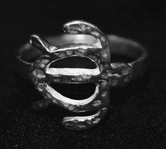 Silver Honu Ring