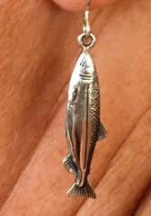 Sockeye Salmon Earrings