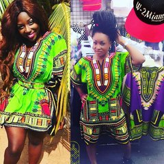 Dashiki Short Sets