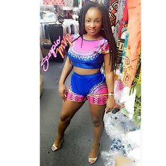 Dashiki Sexy Short Sets