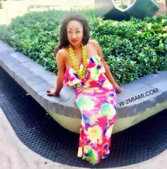 Miami Yellow Off Shoulder Floral Maxi Dress