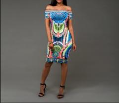 Western Fashion Midi Dress