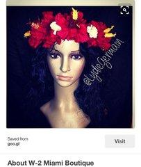 Custom Flower Head Crown