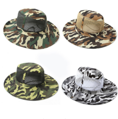 Miami Mesh Camouflage Fishing Hats