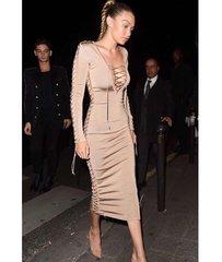Gigi Hadid Midi Dress