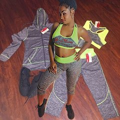 W2M Capri Workout Sets