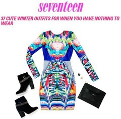 Colorful Floral Dress Seventeen Magazine